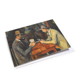 The Card Players Mini Notecard Set<br>(Pack of 10)