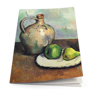 Still Life, Jug and Fruits Exercise Book<br>(Pack of 10)