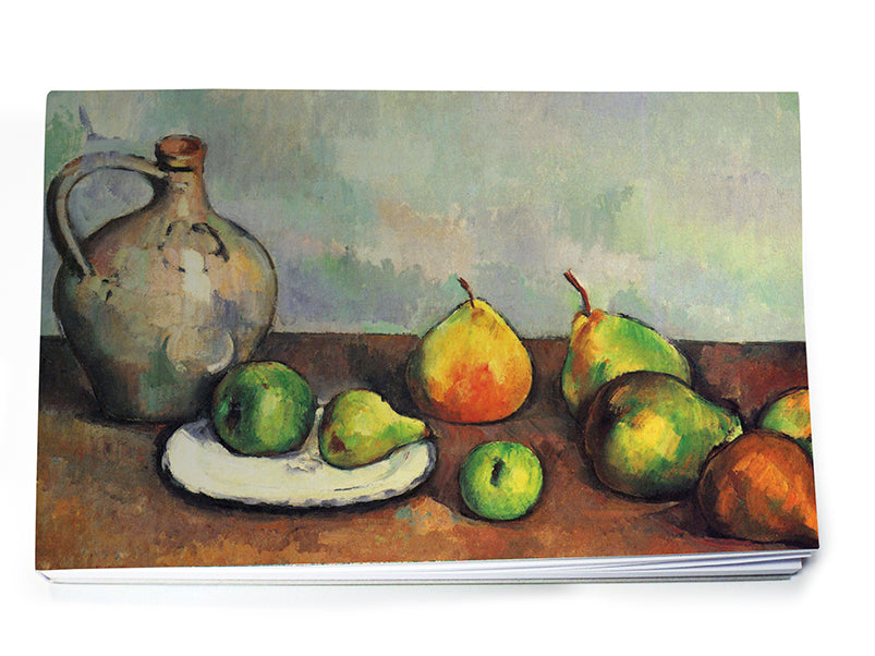Still Life, Jug and Fruits Notepad A5<br>(Pack of 10)