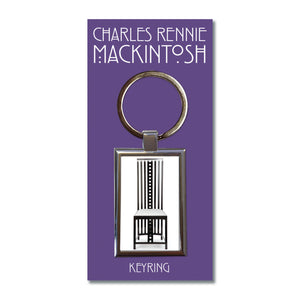 Chair 1 Metal Keyring<br>(Pack of 10)