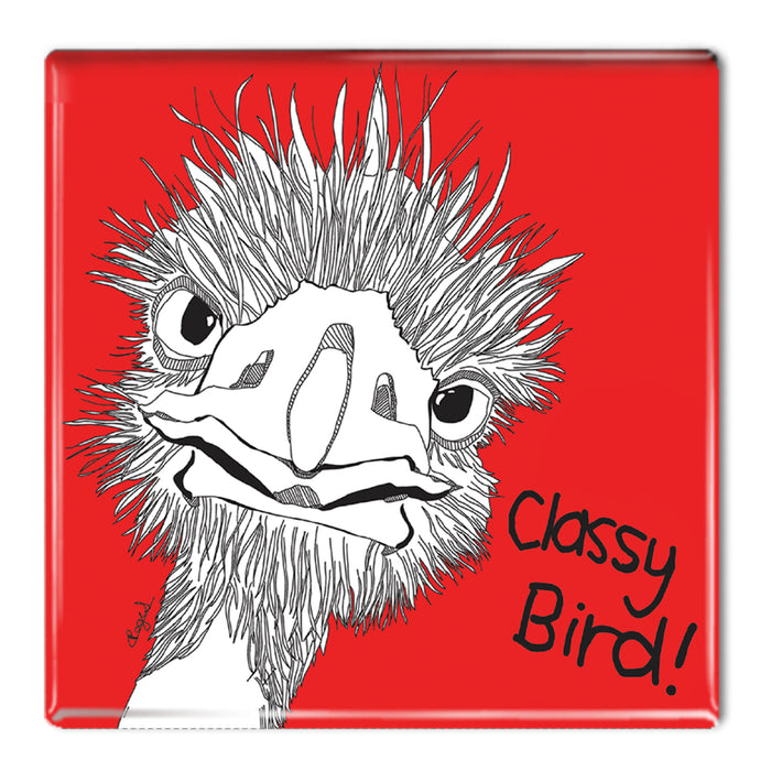 Classy Bird! - Fridge Magnet<br>(Pack of 10)