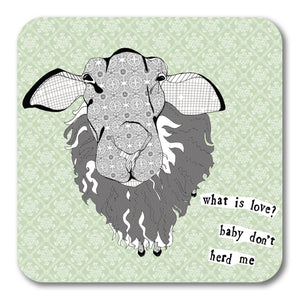 Baby don't herd me Coaster <br> (Pack of 10)