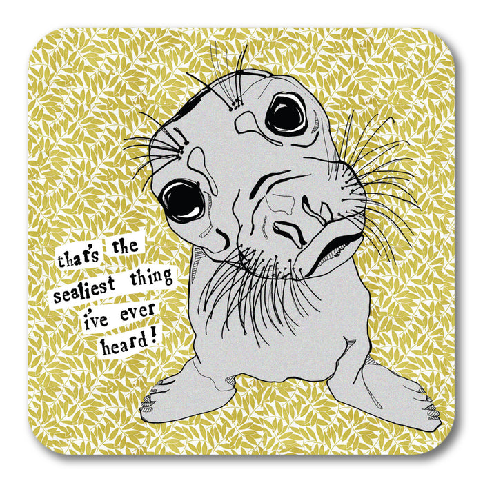 Sealiest thing Coaster <br> (Pack of 10)