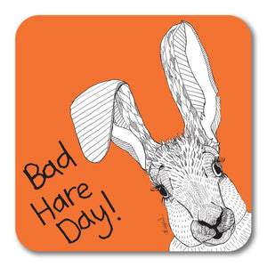 Bad Hair Day! Coaster <br> (Pack of 10)
