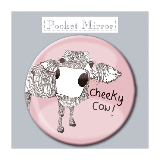 Cheeky Cow! Pocket Mirror<br>(Pack of 10)