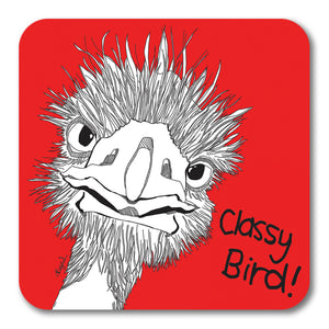 Classy Bird! Coaster <br> (Pack of 10)