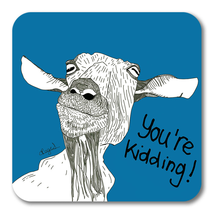 You're Kidding! Coaster <br> (Pack of 10)