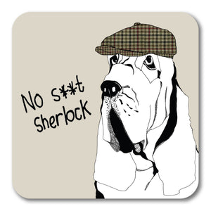 No S**t Sherlock Coaster <br> (Pack of 10)