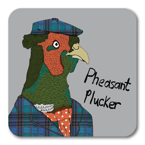 Pheasant Plucker Coaster <br> (Pack of 10)