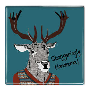 Staggeringly Handsome! - Fridge Magnet<br>(Pack of 10)