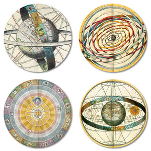 Celestial Maps Coaster Set of 4<br>(Pack of 4)