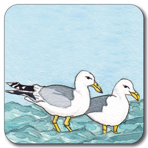 Pair of Seagulls Coaster<br>(Pack of 10)
