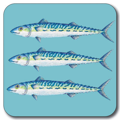 Mackerel Coaster<br>(Pack of 10)