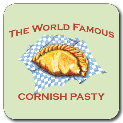 Cornish Pasty Coaster<br>(Pack of 10)