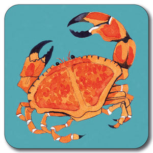 Red Crab Coaster<br>(Pack of 10)