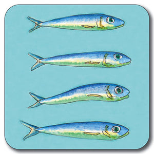 Pilchards Coaster<br>(Pack of 10)