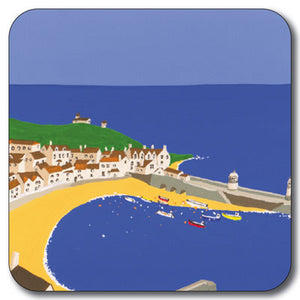 St Ives Harbour Coaster<br>(Pack of 10)