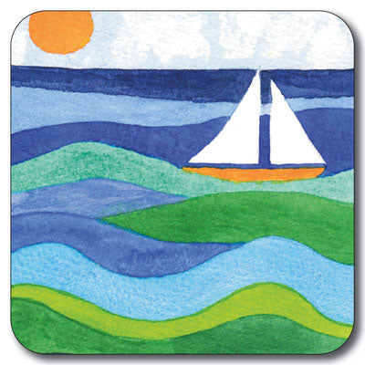 Ocean Blue Coaster<br>(Pack of 10)