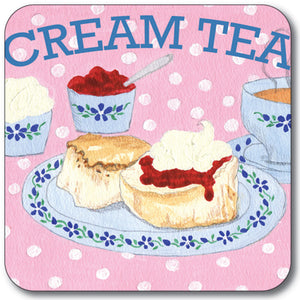 Cream Tea Coaster<br>(Pack of 10)