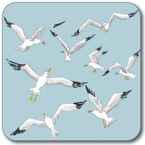 Flight of the gulls Coaster<br>(Pack of 10)