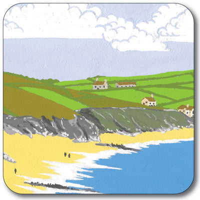 Walking on the Beach Coaster<br>(Pack of 10)