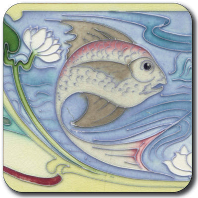 Art Nouveau Tile 03 Coaster<br>(Pack of 10)