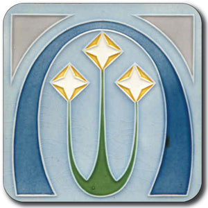Art Nouveau Tile 10 Coaster<br>(Pack of 10)