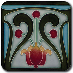 Art Nouveau Tile 29 Coaster<br>(Pack of 10)