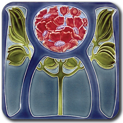 Art Nouveau Tile 30 Coaster<br>(Pack of 10)