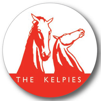 Kelpies Red Logo Round Coaster<br>(Pack of 10)