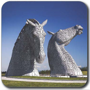 Kelpies Colour Front View Coaster<br>(Pack of 10)