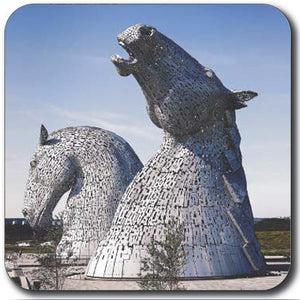 Kelpies Colour Side View Coaster<br>(Pack of 10)