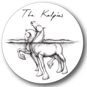 Kelpies Sketch Round Coaster<br>(Pack of 10)