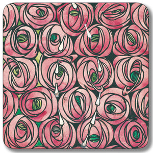 Rose and Teardrop Coaster<br>(Pack of 10)