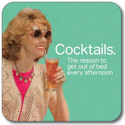 Cocktails Coaster<br>(Pack of 10)