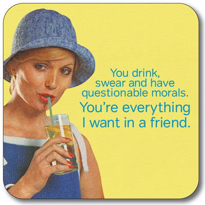 Everything I Want Coaster<br>(Pack of 10)
