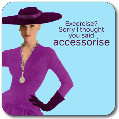 Accessorise Coaster<br>(Pack of 10)