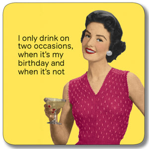 Two Occasions Coaster<br>(Pack of 10)