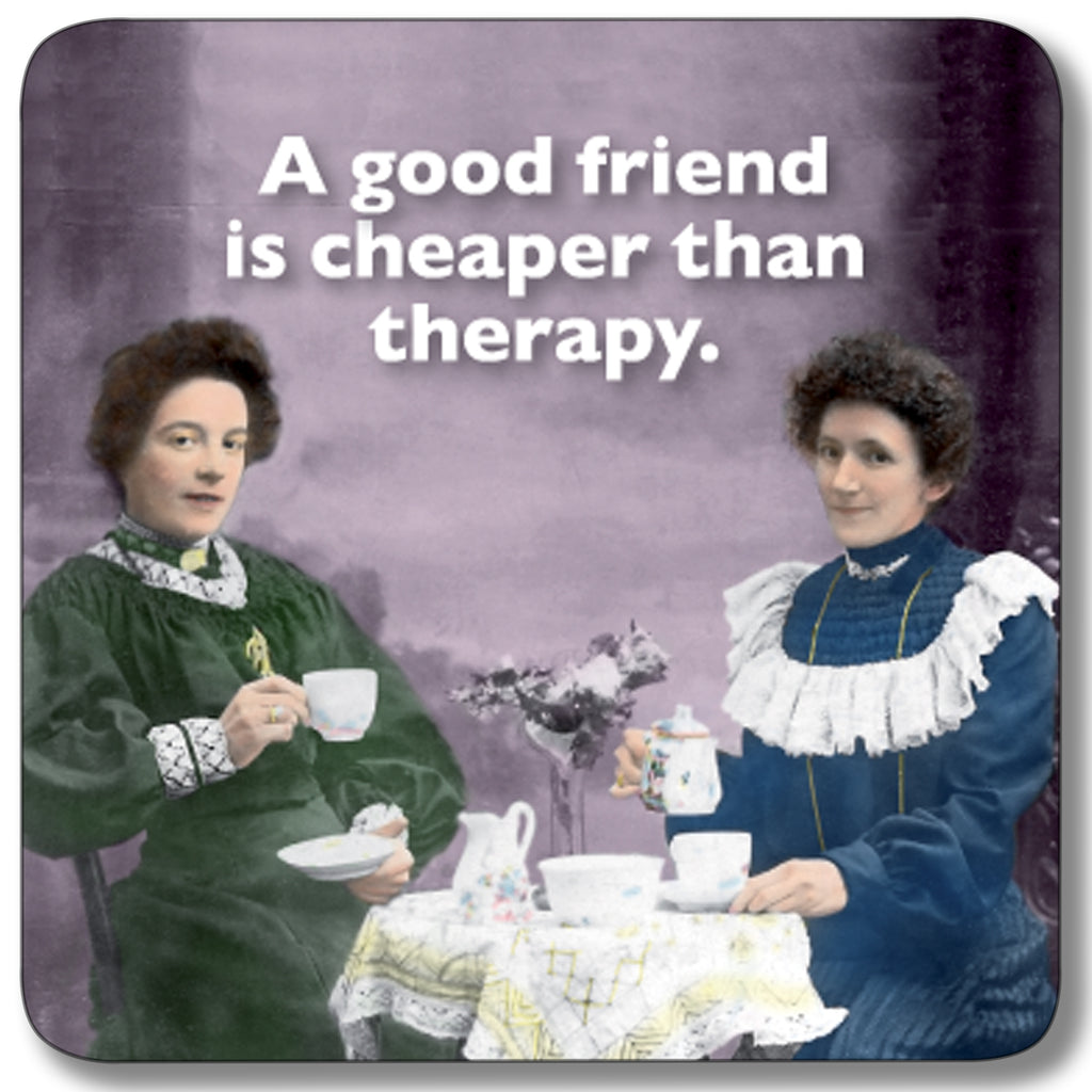 Cheaper Than Therapy Coaster<br>(Pack of 10)