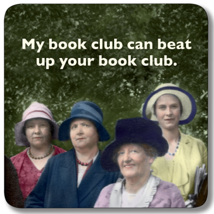 My Book Club Coaster<br>(Pack of 10)