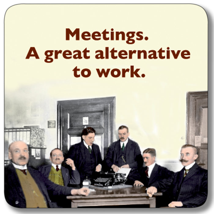 Meetings Alternative Coaster<br>(Pack of 10)