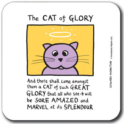 Cat of Glory  Coaster<br>(Pack of 10)