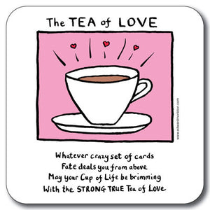 Tea of Love Coaster<br>(Pack of 10)