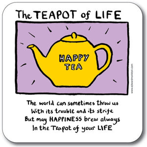 Teapot of life Coaster<br>(Pack of 10)
