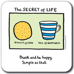 The Secret of Life Coaster<br>(Pack of 10)