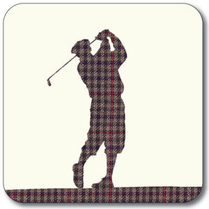 Golfer - Swing Coaster<br>(Pack of 10)