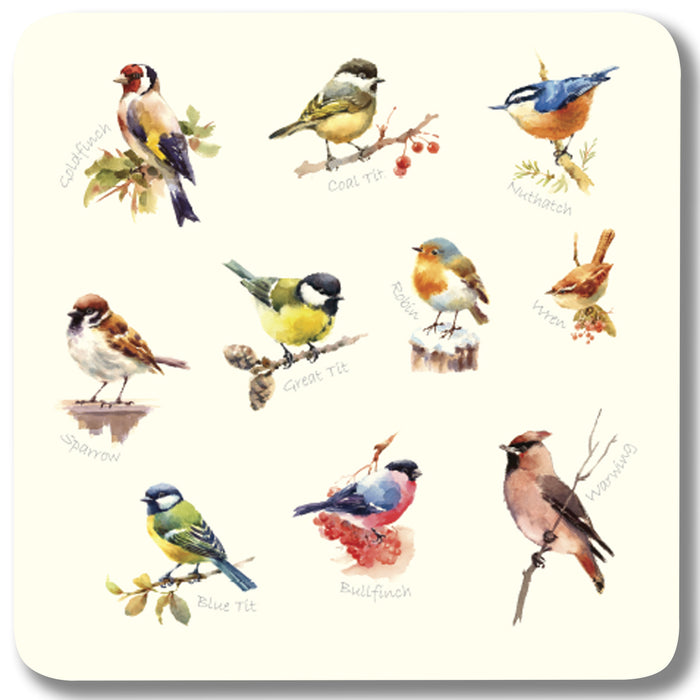 Mixed Birds 1 - Coaster<br>(Pack of 10)