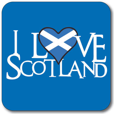 Love Scotland Coaster<br>(Pack of 10)