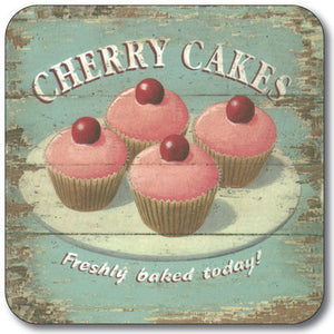 Cherry Cakes  Coaster<br>(Pack of 10)