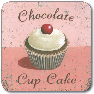 Chocolate Cup Cakes  Coaster<br>(Pack of 10)